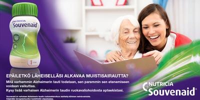 Souvenaid ja varhainen Alzheimerin tauti