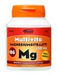 MULTIVITA MAGNESIUMSITRAATTI + B6 (90 TABL)