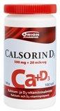 Calsorin 500mg + D3 20mikrog (1 × 100tabl)