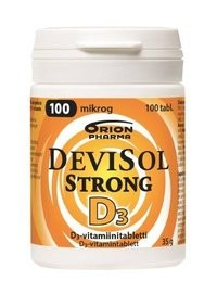 DEVISOL STRONG 100 MIKROG IMESKELYTABL (100)