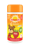 Minisun Junior C-vitamiini mansikka (1 × 80tabl)