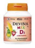 DEVISOL MIX 10 MIKROG PURUTABLETTI (200 KPL)