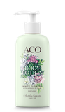 Tarjouksessa (norm.  10 €) ACO BODY LOTION WHITE FLOWERS LIMITED EDITION VARTALOVOIDE  (200 ml)