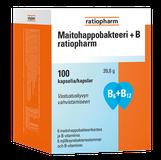 MAITOHAPPOBAKTEERI + B RATIOPHARM (100 KAPS )