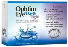 OPHTIM EYE DAY & NIGHT SILMÄTIPAT 15 X 0,5% + 15 X 0,4% (15 + 15 PIPETIT)