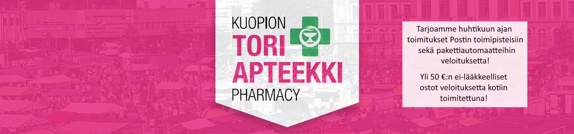 Apteekki lääkkeet ilmainen toimitus ilmainen kotiinkuljetus veloituksetta