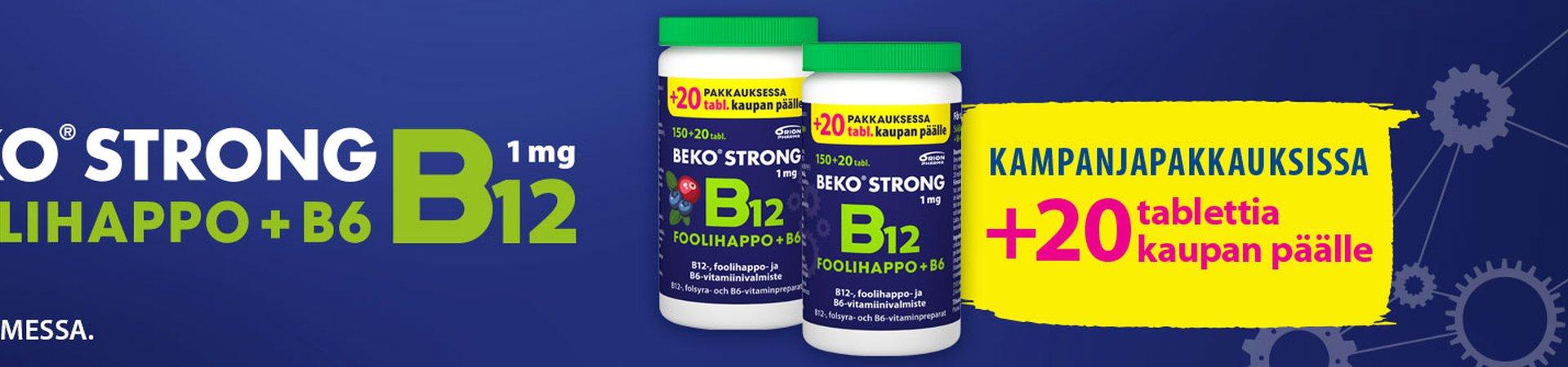 Beko Strong kampanja 170