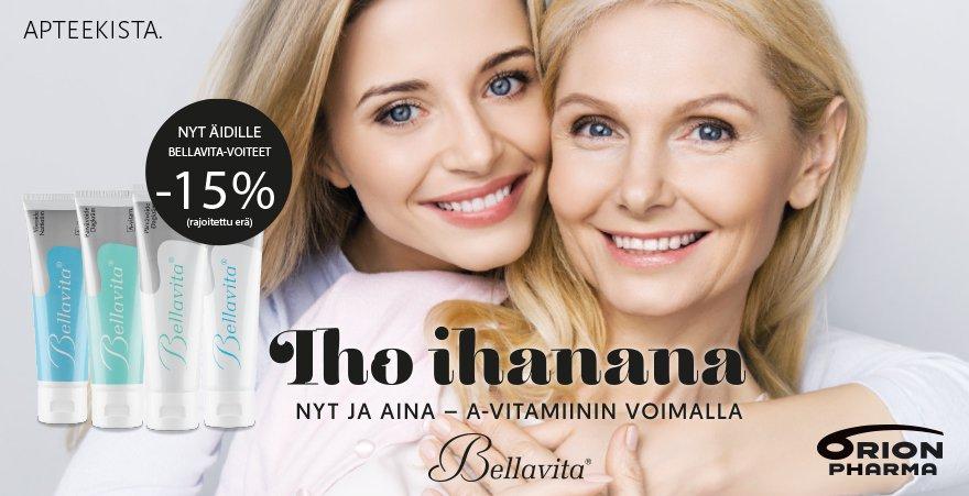 äitienpäivi tarjous bellavita