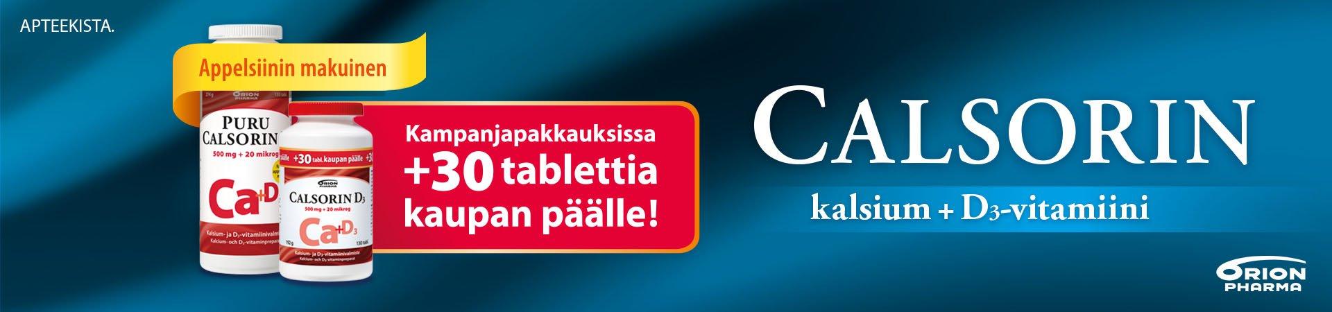 calsorin kampanja