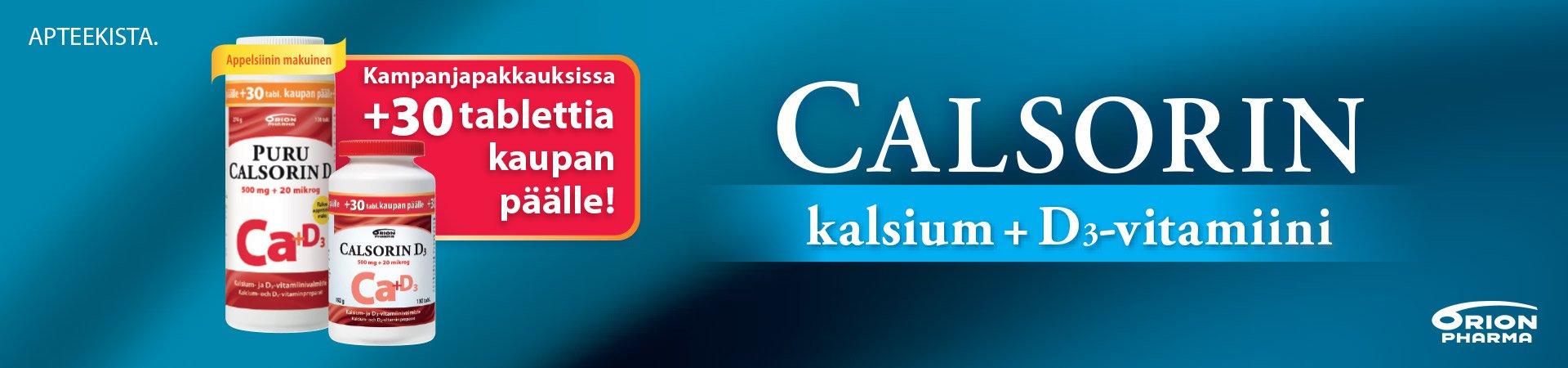 calsorin kampanja maaliskuussa