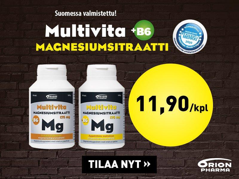 multivita magnesiumsitraatti 175mg vahva