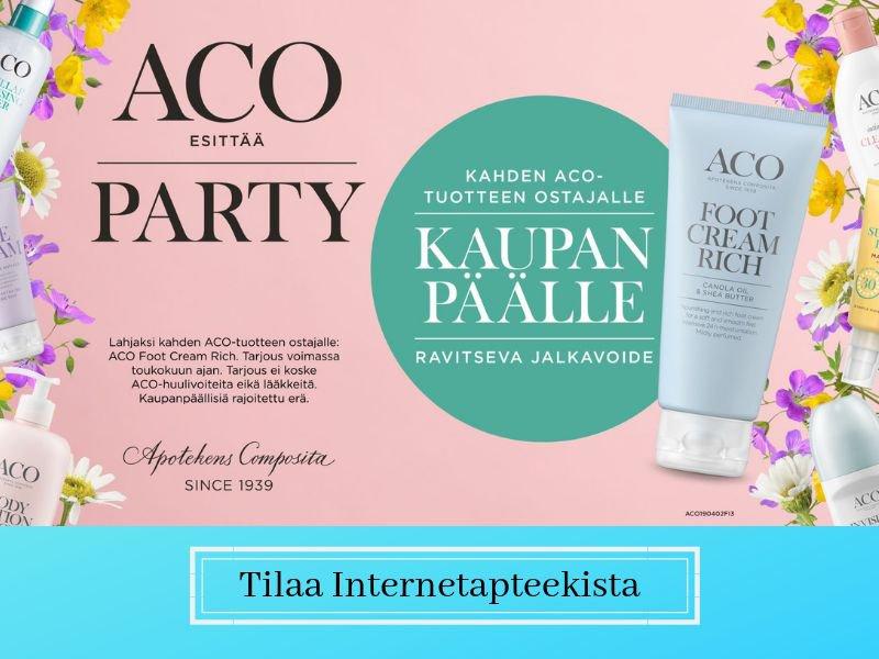 Aco party kesä