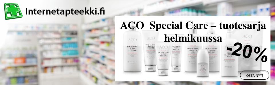 Aco special care tuotesarja -20%