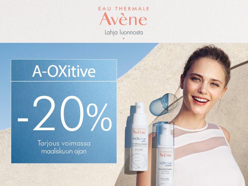 Uutuus Avene-A-oxitive