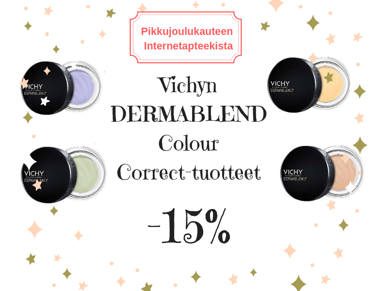 Vichy Dermablend  Color Correction peitevärit -15 %