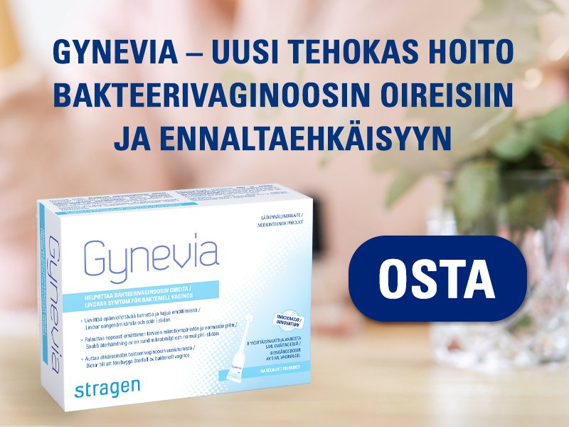 Bakteerivaginoosi, naisen alakerta, gynevia