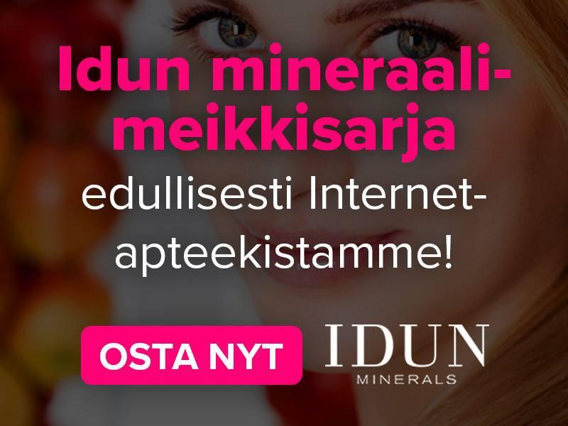 Idun Minerals kosmetiikka