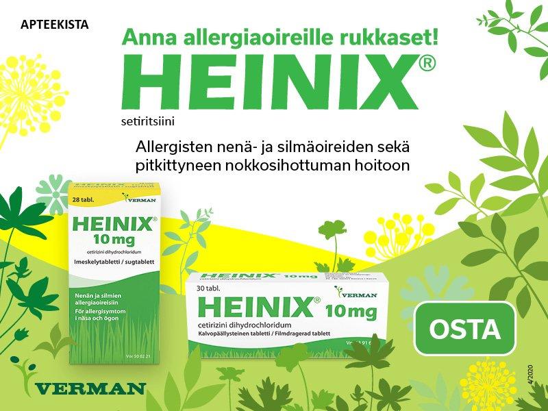 Heinix toukokuu 2020