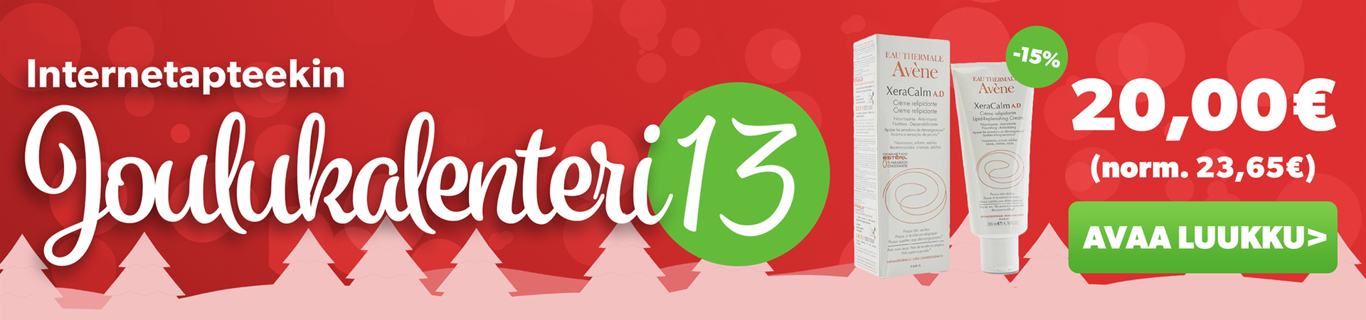 Joulukalenteriluukku 13