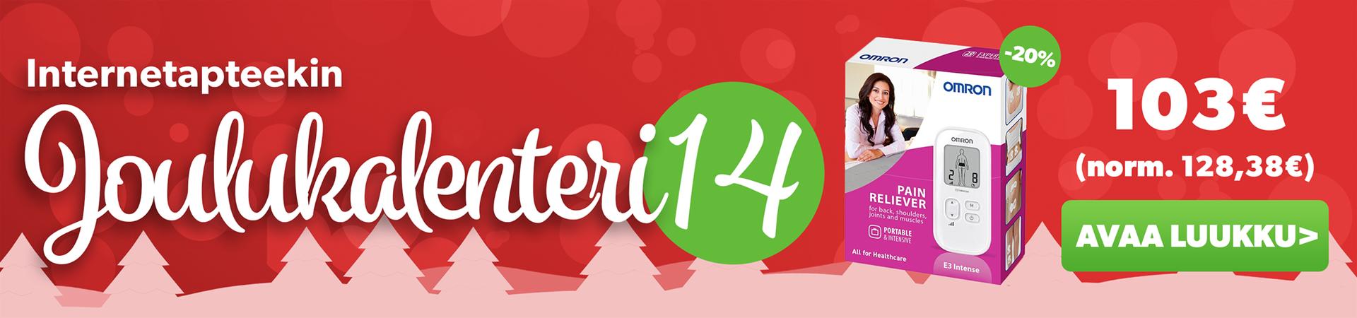 Joulukalenteriluukku 14