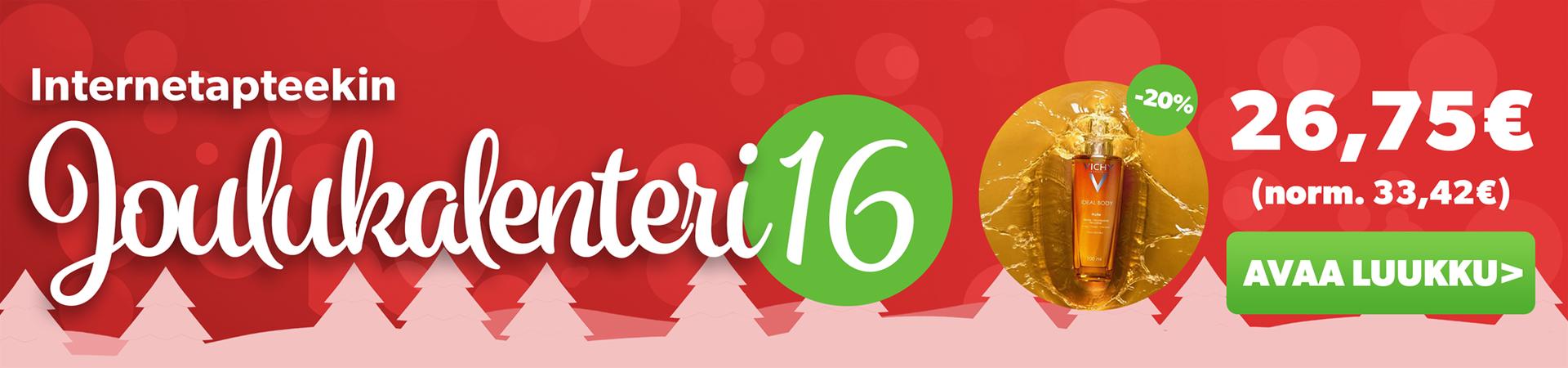 Joulukalenterin luukku 16