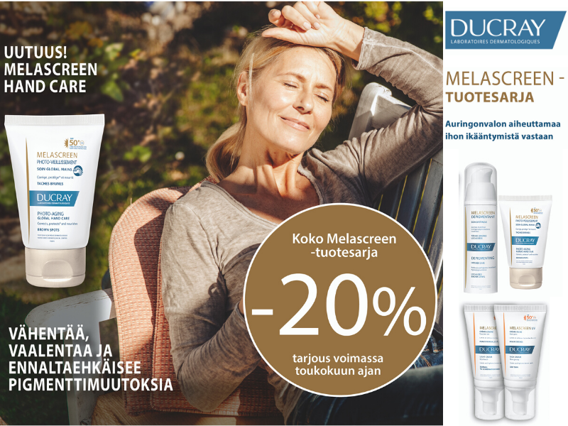 Ducray melascreen tarjous toukokuu2020