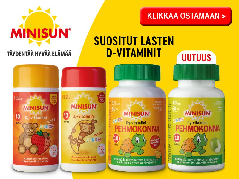 Minisun junior vitamiinit