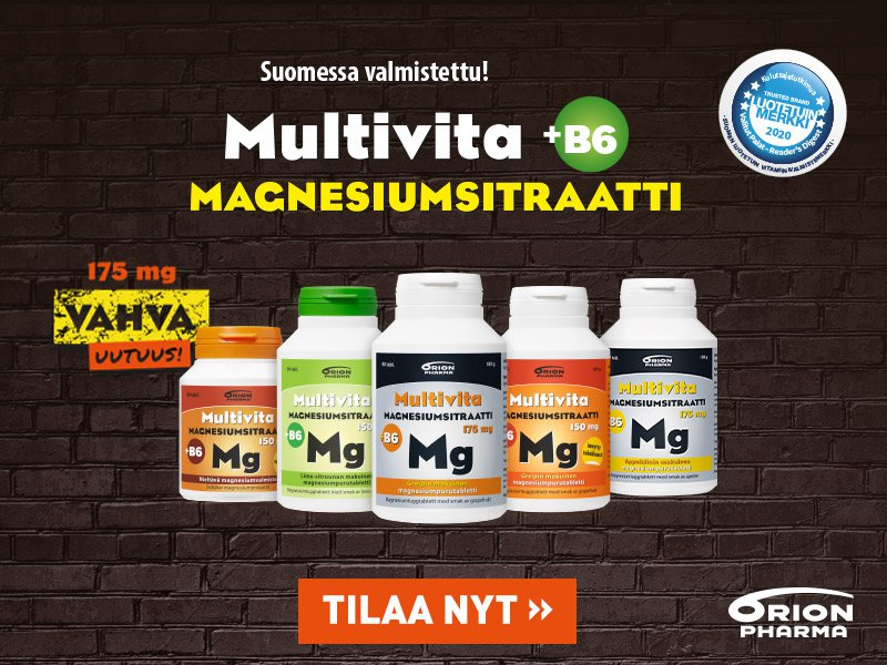 Multivita magnesiumit