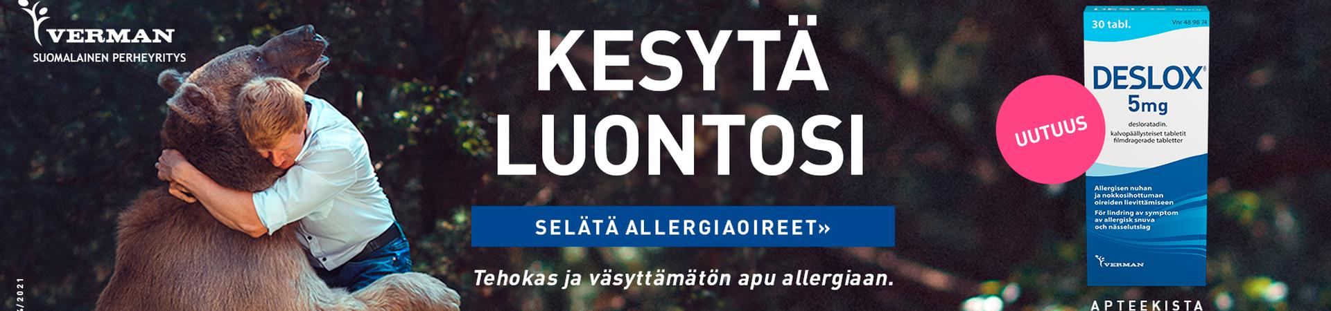 deslox allergialääke