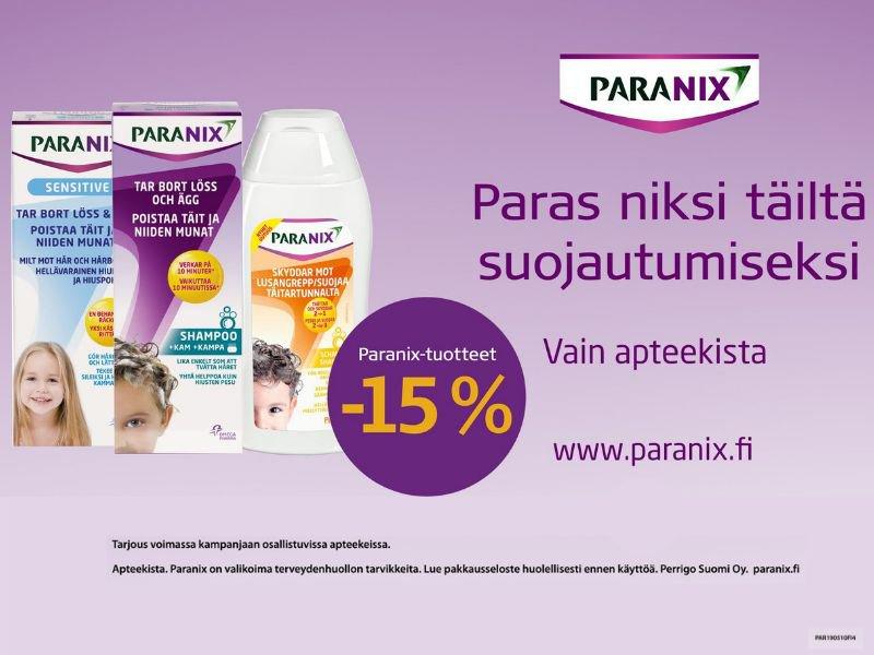 Paranix tarjous