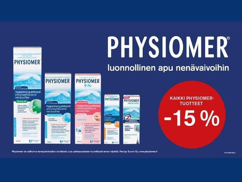 physiomer alennus