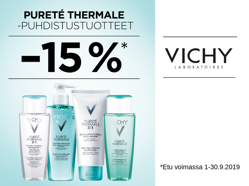 Vichy Purette thermal tarjous