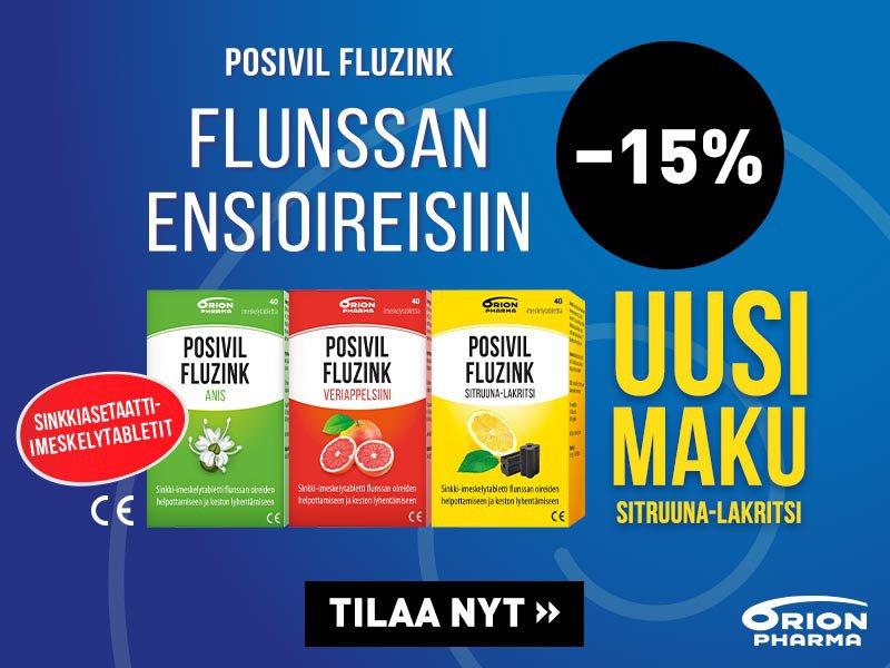 Posivil Fluzink -15 % helmikuu 20
