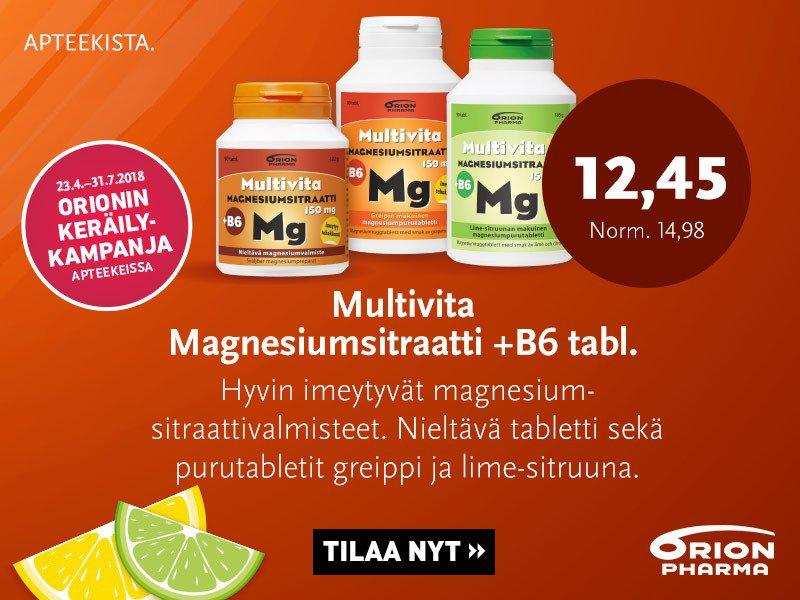 Multivita magnesiumsitraatti
