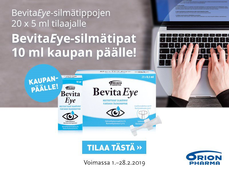 Bevita Eye helmikuu