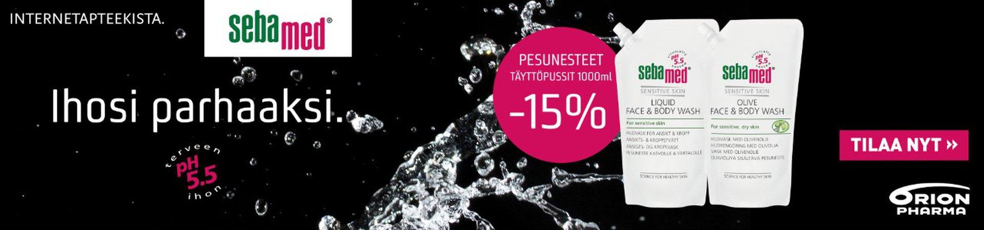 Aqualan  pesunesteet täyttöpussit 1000 ml