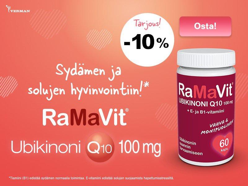 RaMaVit Ubikinoni Q10 100 mg