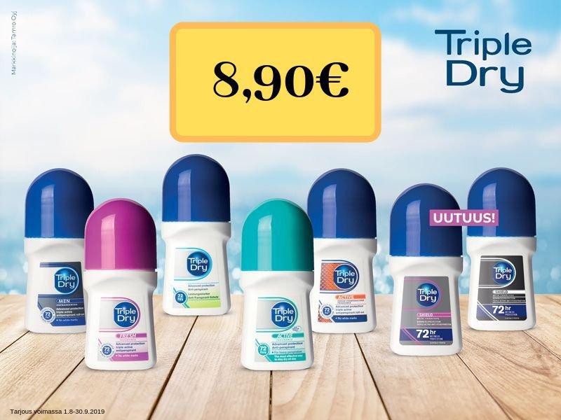 triple dry tarjous