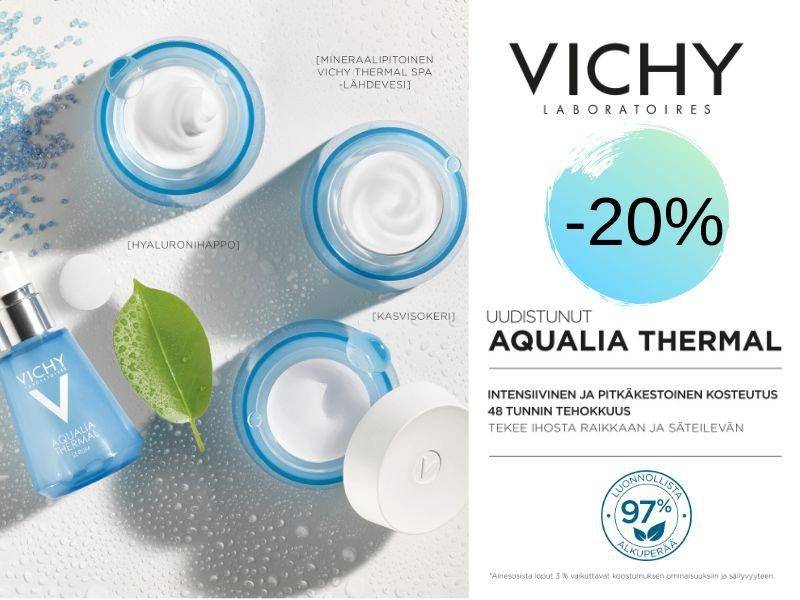 Aqualia Thermal tarjous elokuussa