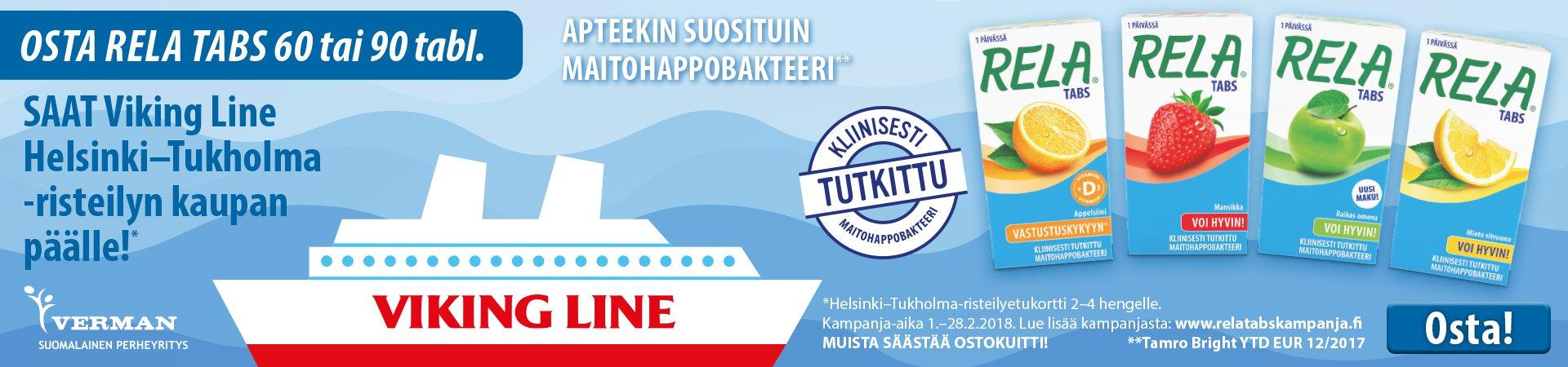 rela risteily kaupan päälle kampanja tukholma viking  line