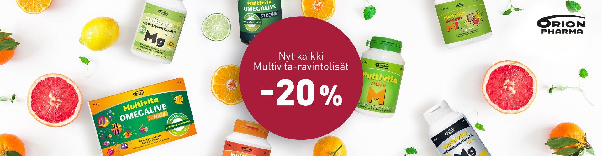 Multivitat -20%
