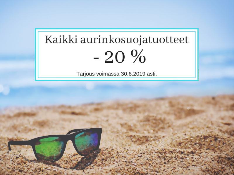 Aurinko -20%