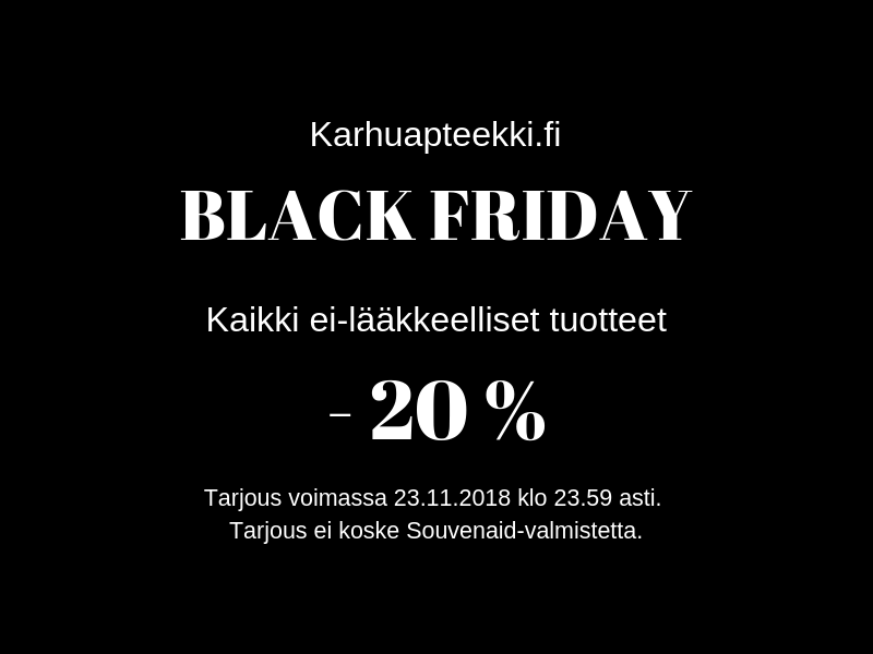 Black Friday 22.-23.11.2018