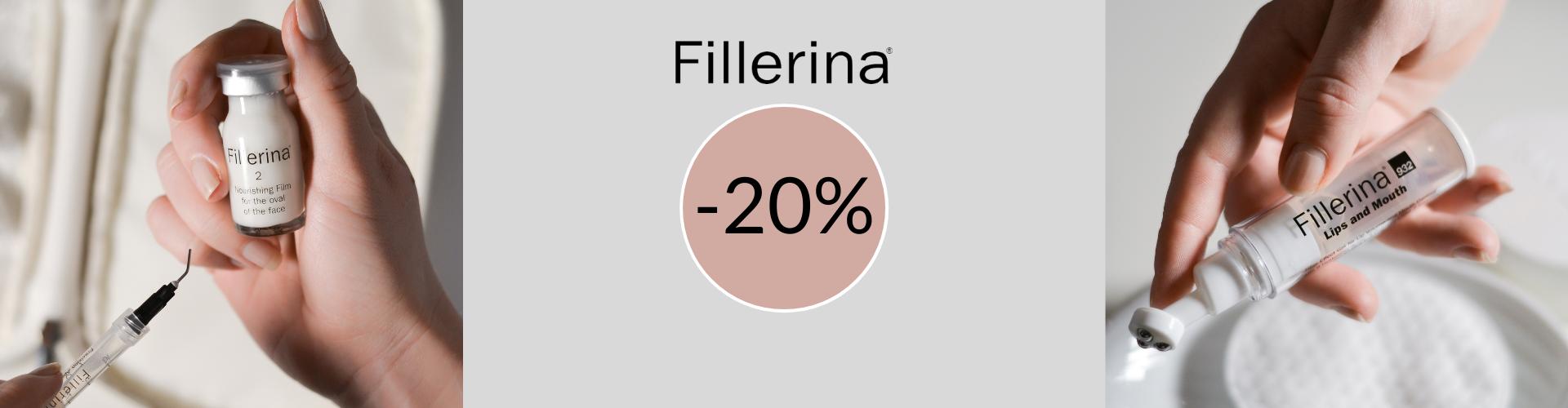 Fillerina -20% lokakuu 2021