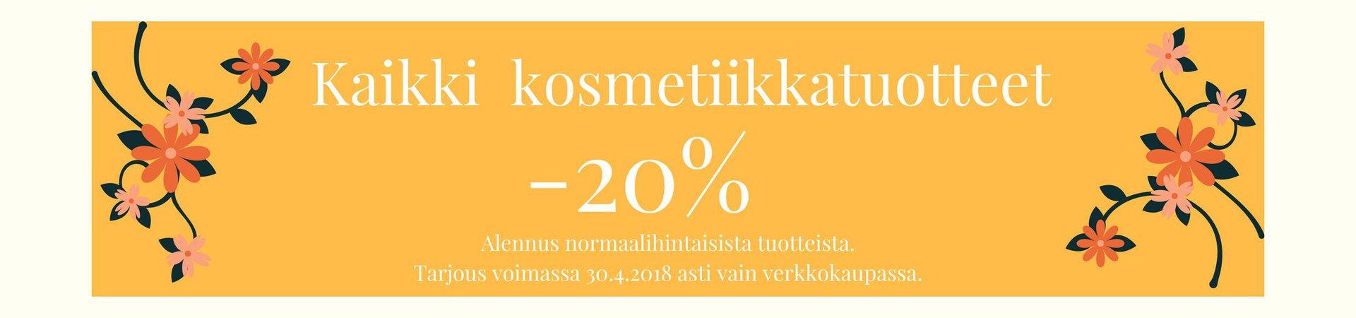Kosmetiikka -20%