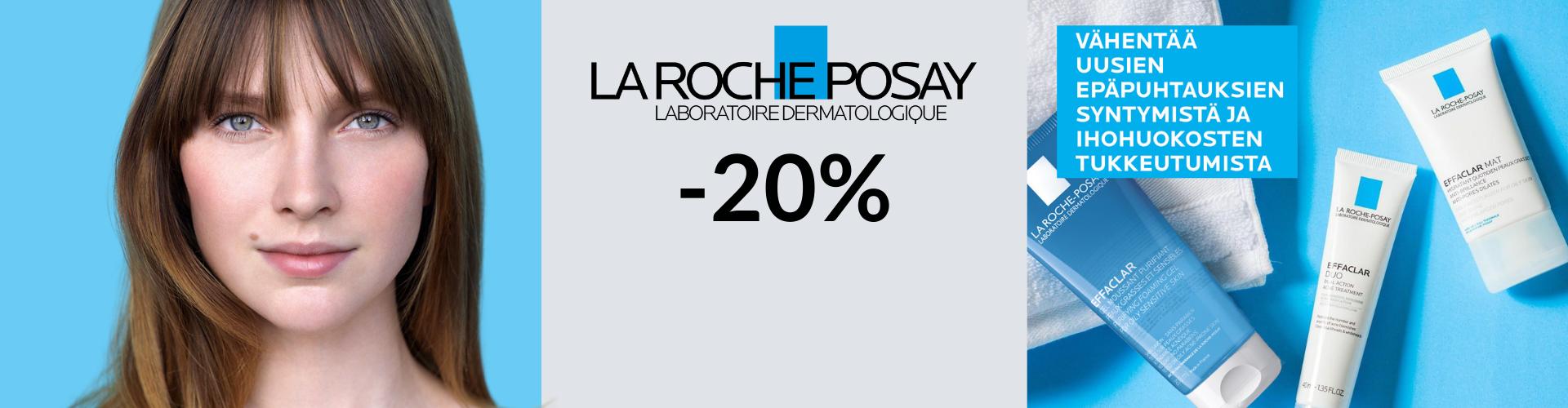 La Roche-Posay -20% syyskuussa