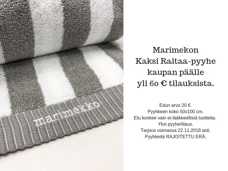 Marimekko mobiili 60€ 15.-22.11.2018