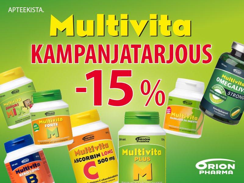 Multivita tarjous