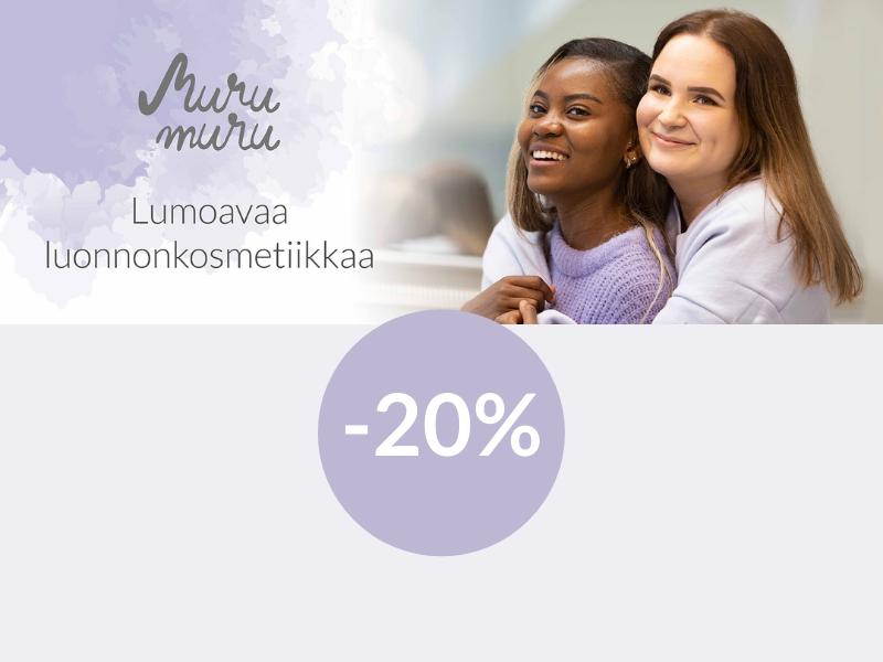 Murumuru -20% lokakuu 2021
