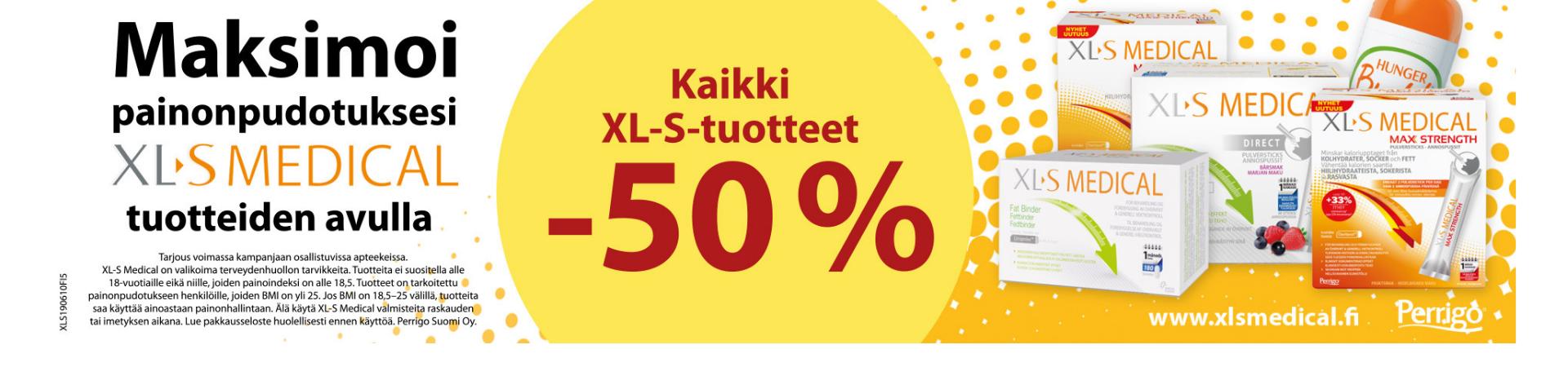 XL-S -50%